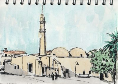 Crete Old Mosque Rethymno